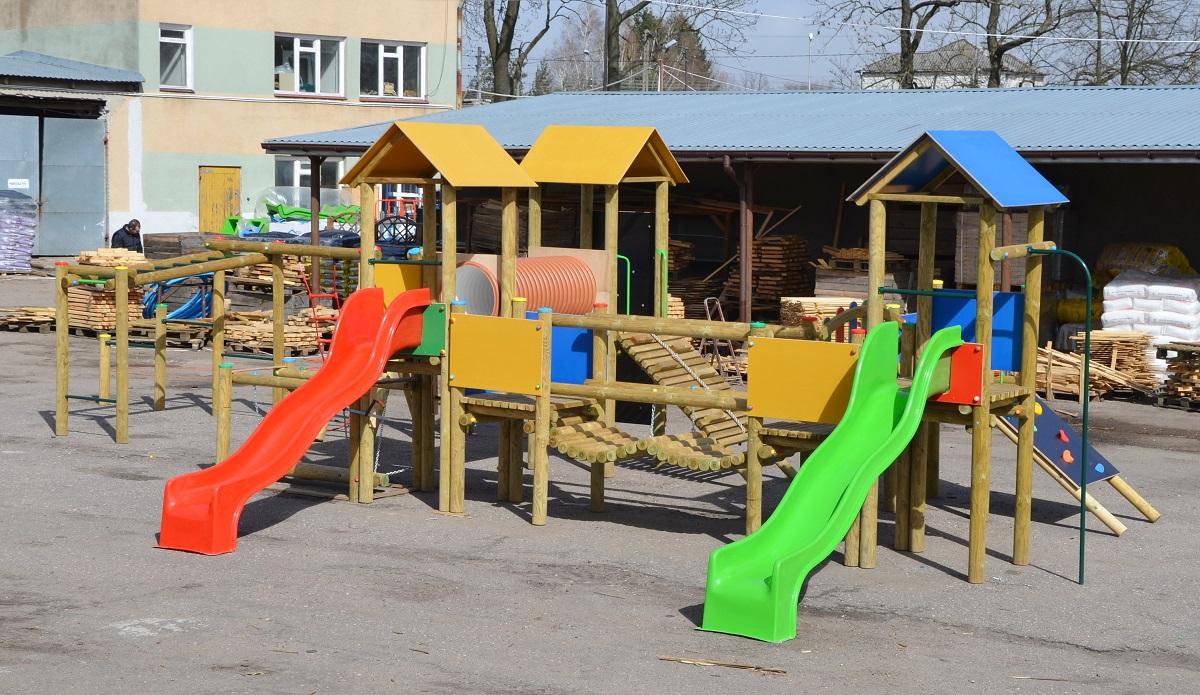 Plac zabaw Trzy Wieże