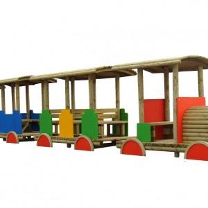 Pociąg dla dzieci na plac zabaw