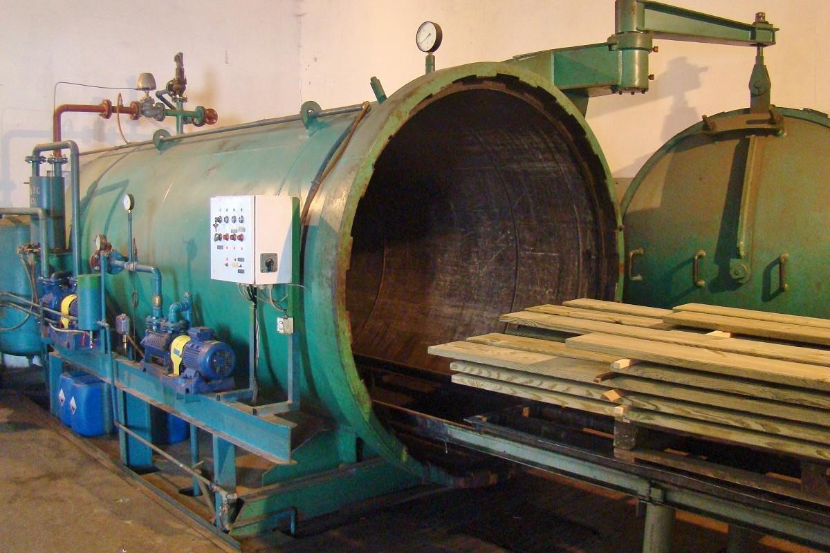 Impregnacja ciśnieniowa drewna