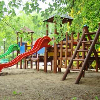 Plac Zabaw Dwie Wieże po konserwacji