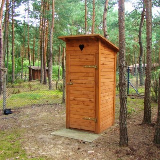 Domek WC