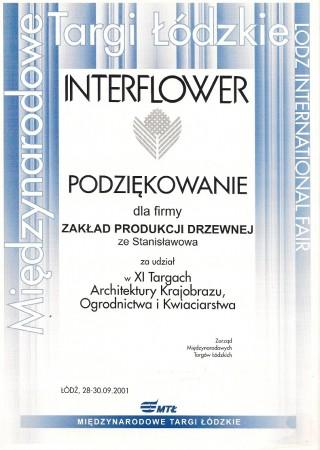 Podziękowanie za udział w targach w Łodzi