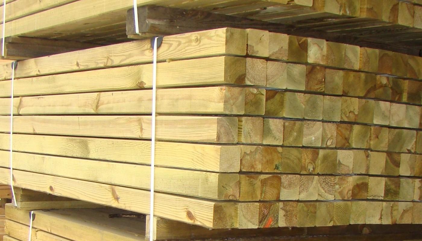 Kantówki drewniane