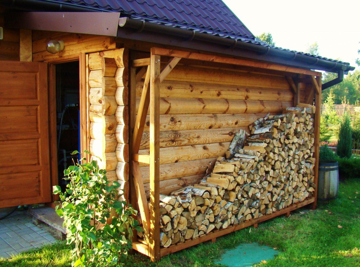 Drewutnie na drewno kominkowe