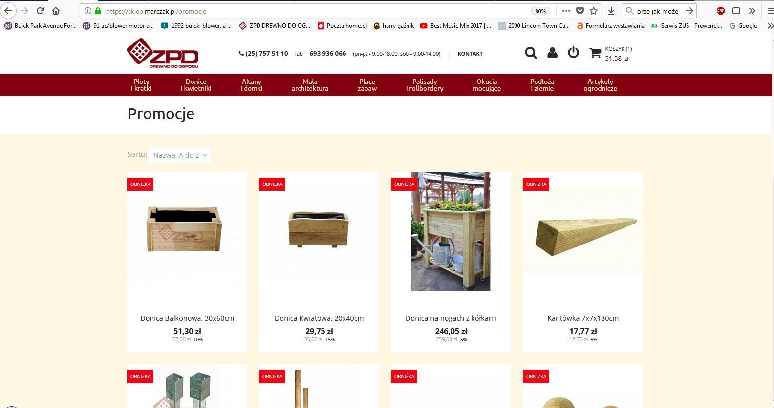 Aktualne promocje na sklepie internetowym